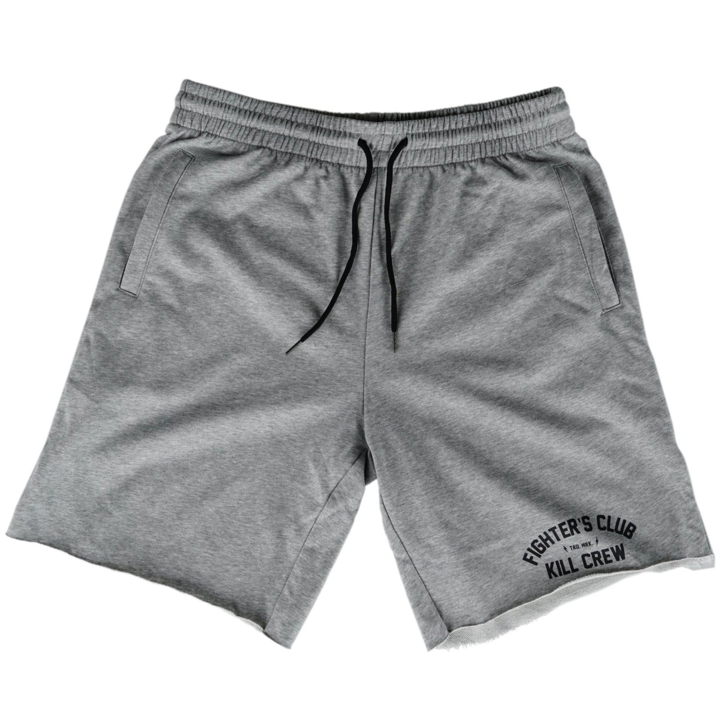 FIGHTER'S CLUB SHORTS - GREY