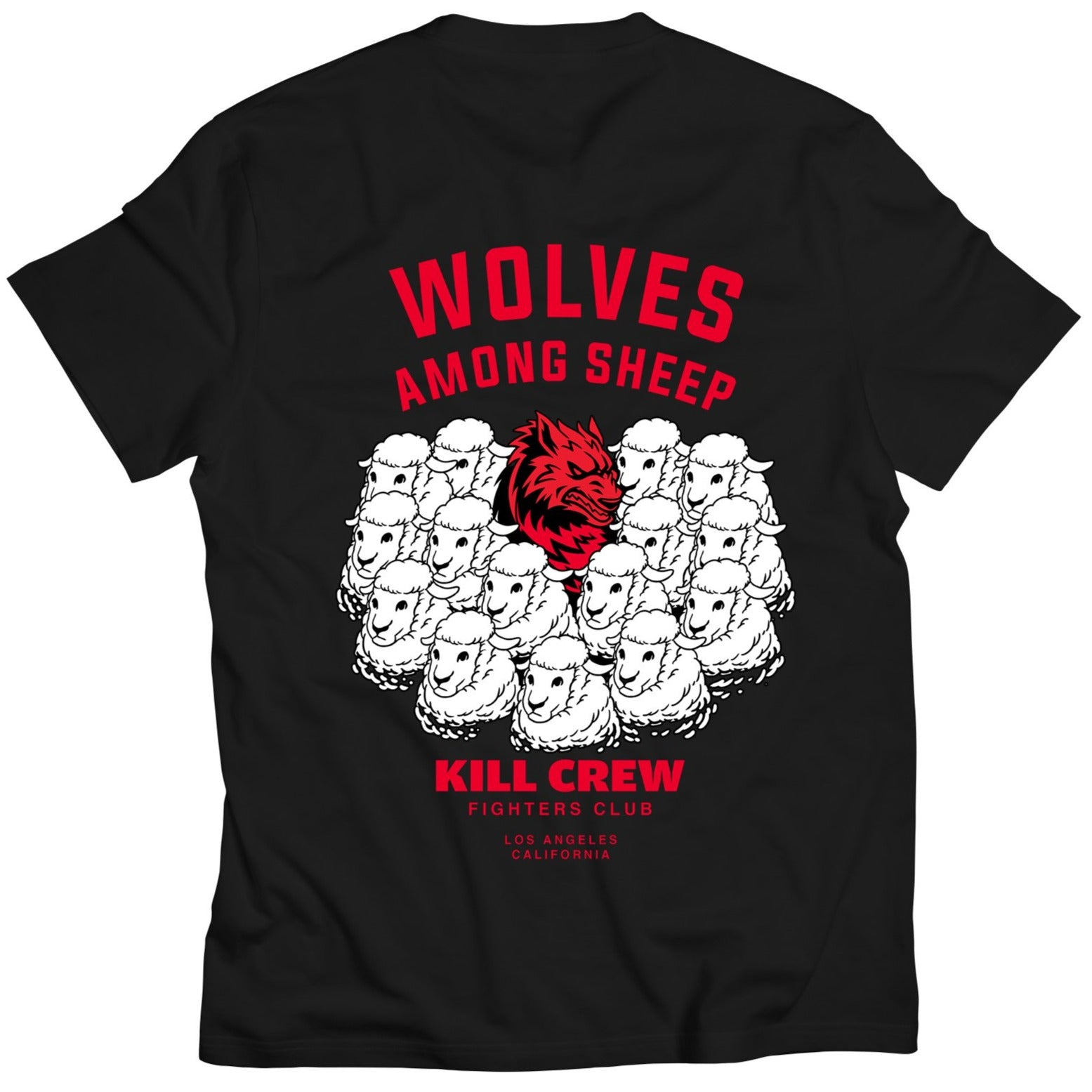 WOLVES AMONG SHEEP T-SHIRT v2 - BLACK