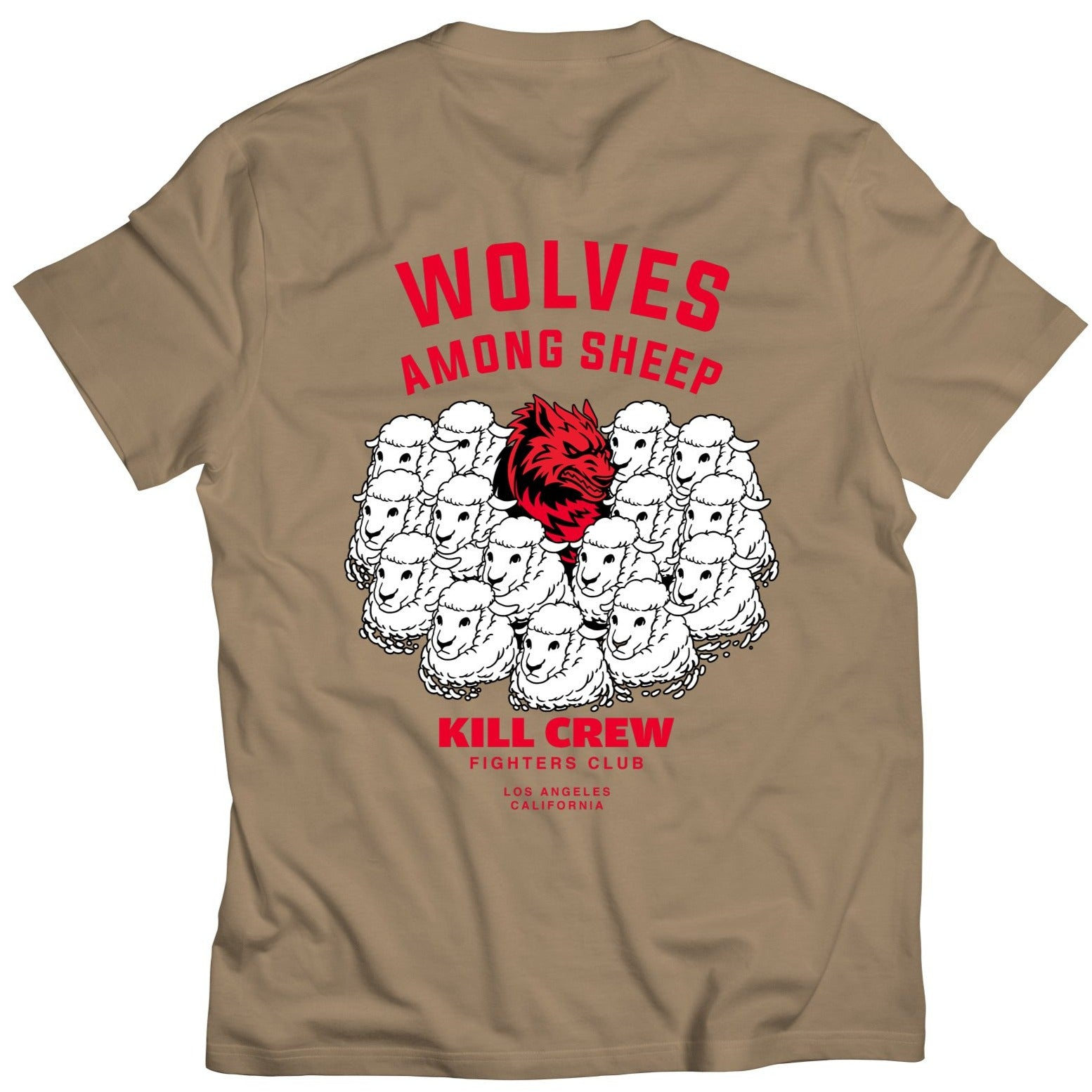 WOLVES AMONG SHEEP T-SHIRT v2 - SAND