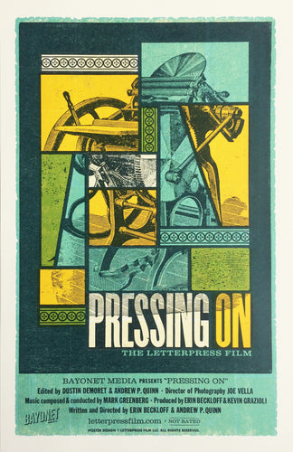 Official Letterpress Printed Movie Poster