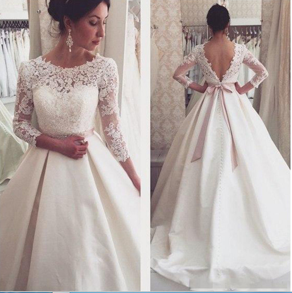 Simple And Elegant Wedding Gowns Raveitsafe