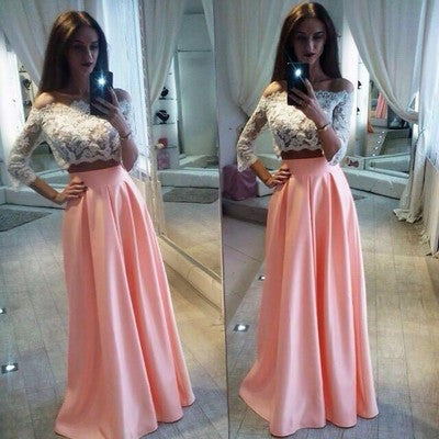 With Long Sleeve Dresses for Formal Occasion