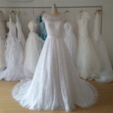 cap sleeve a line full lace elegant wedding dress,a line elegant cheap lace bridal dress