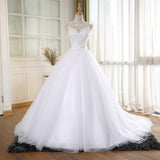 XW46 Ball Gown Vintage Wedding Dress With Pearls Vestido De Novia Princess New Bridal Dresses