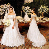 XW8 Sweetheart Long Sleeve Lace Ball Gown Wedding Dress,lace long sleeve bridal gown
