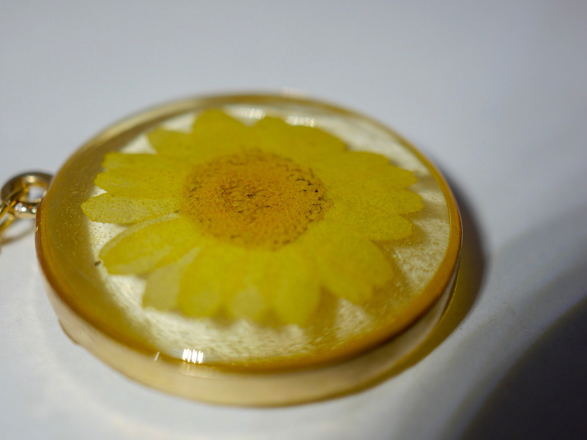 Yellow Daisy Necklace