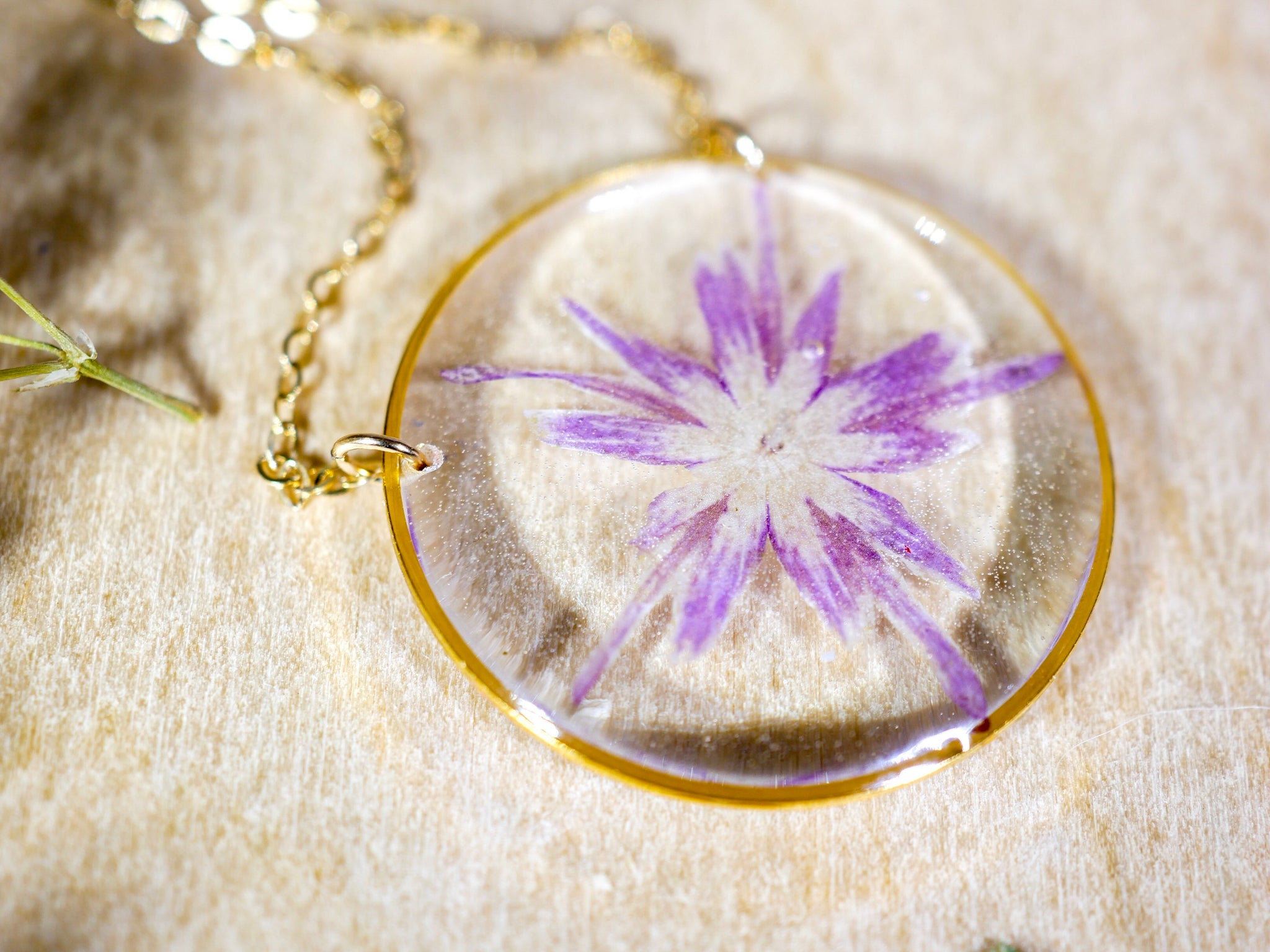 Star phlox Necklace