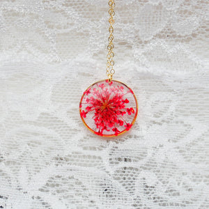 RedQueen Anne's Lace Necklace