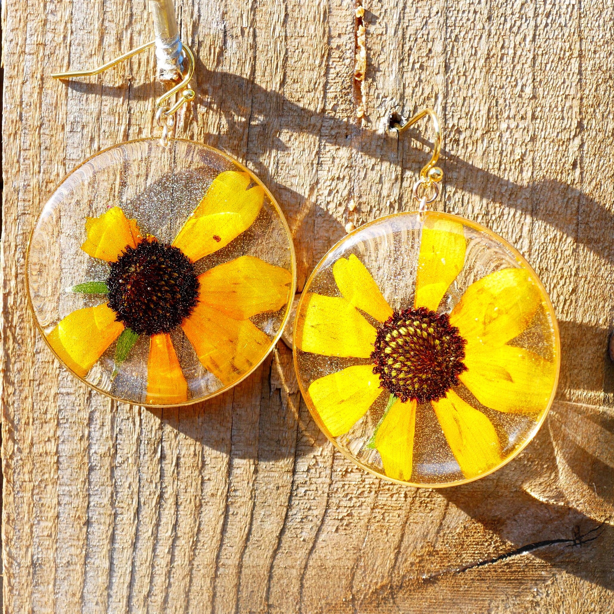 Black Eyed Susan Earrings