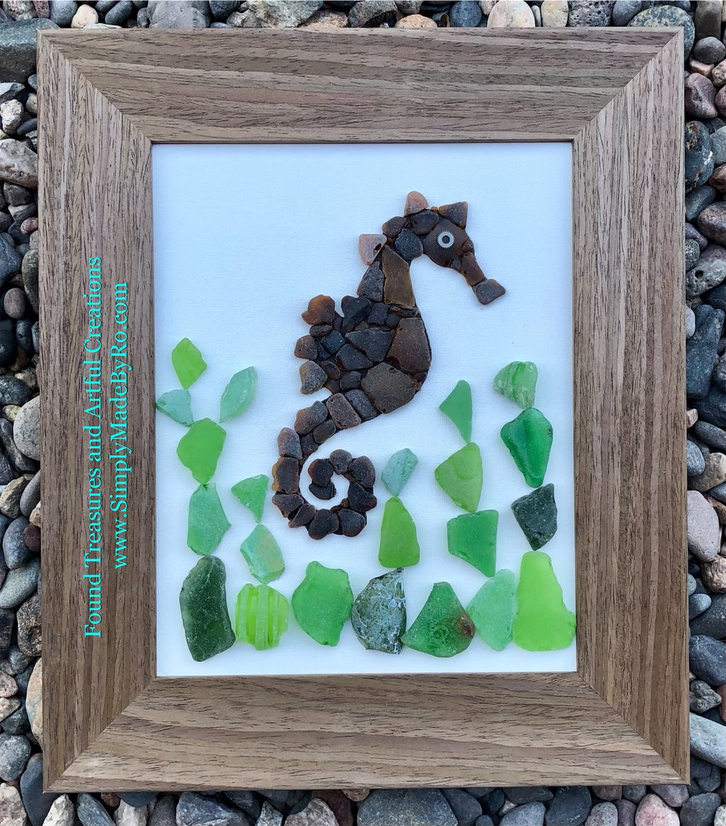 Sea Glass Horse