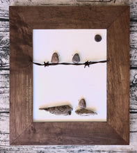Birds on Barbed Wire *made to order artwork