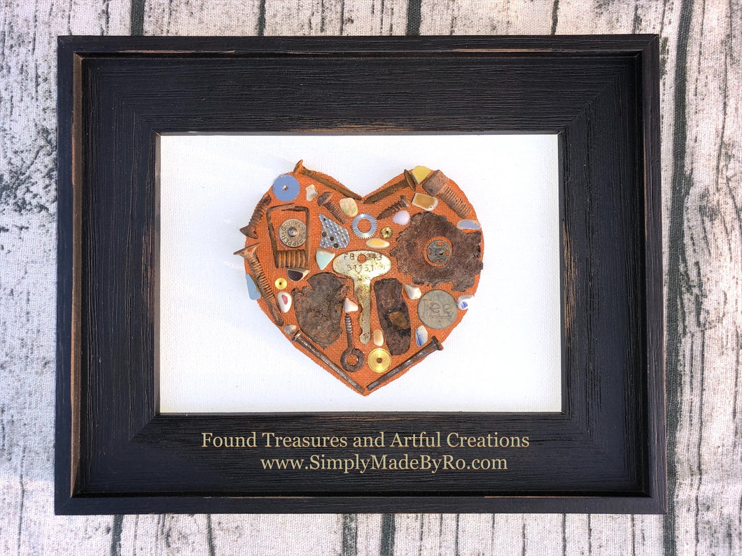 Rusty Heart *made to order artwork
