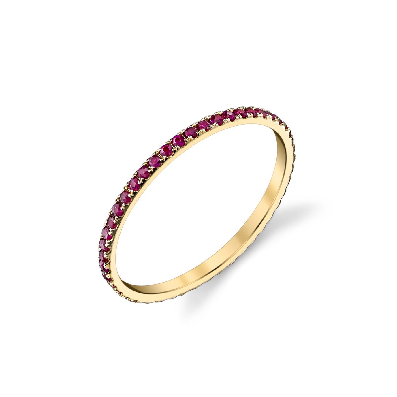Axis Ring With Rubies