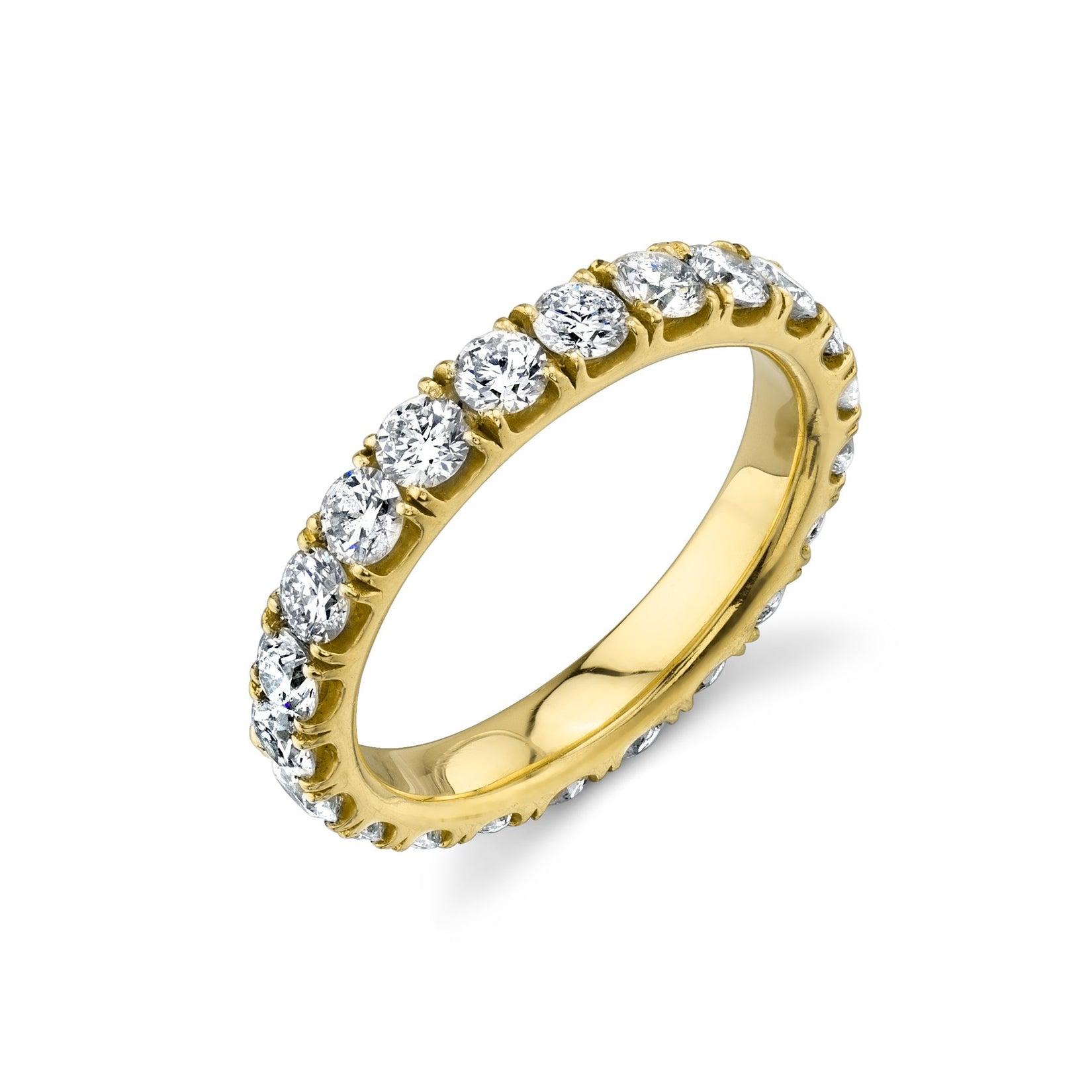 Master Axis Ring With White Diamonds - Gabriela Artigas
