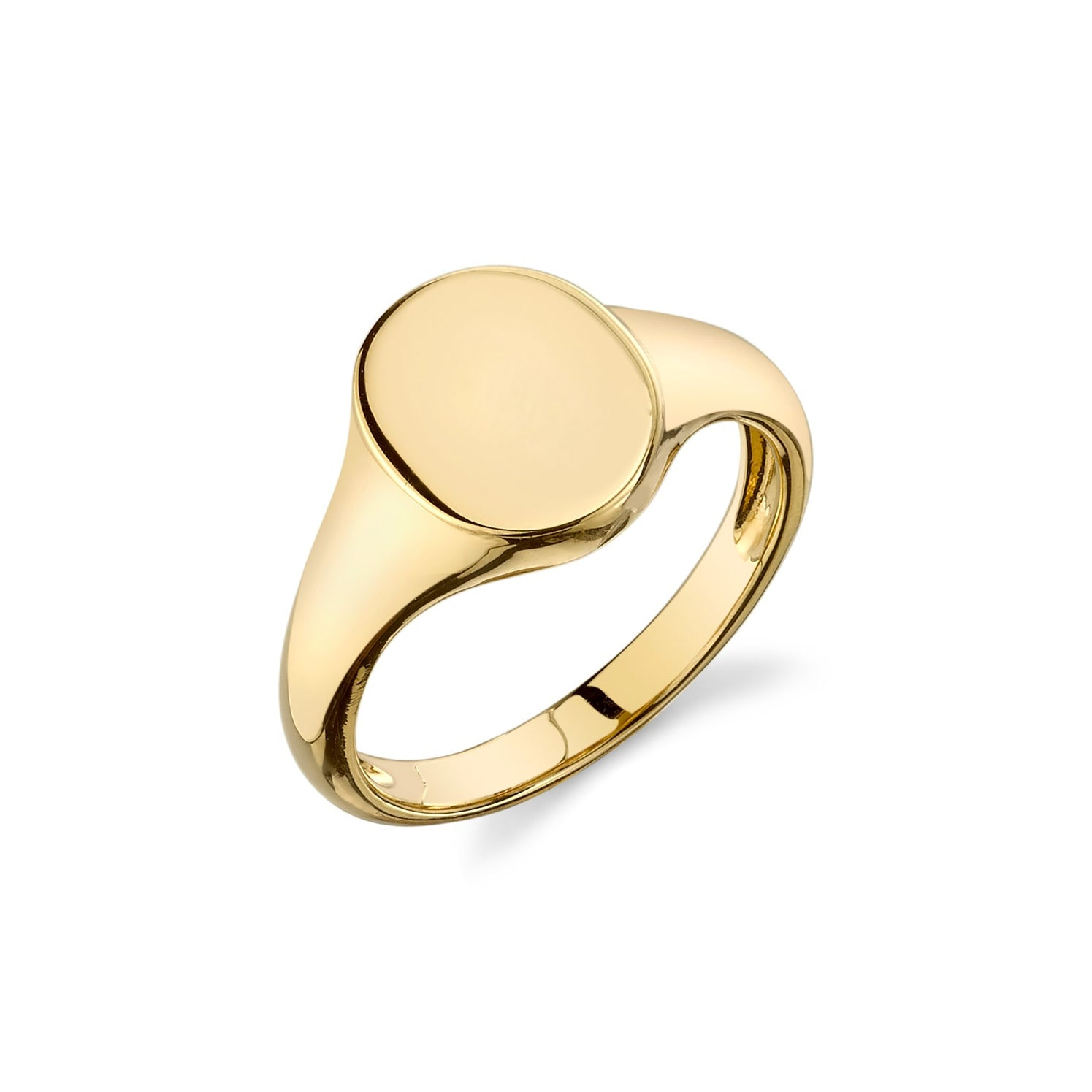 Disc Signet Ring - Gabriela Artigas