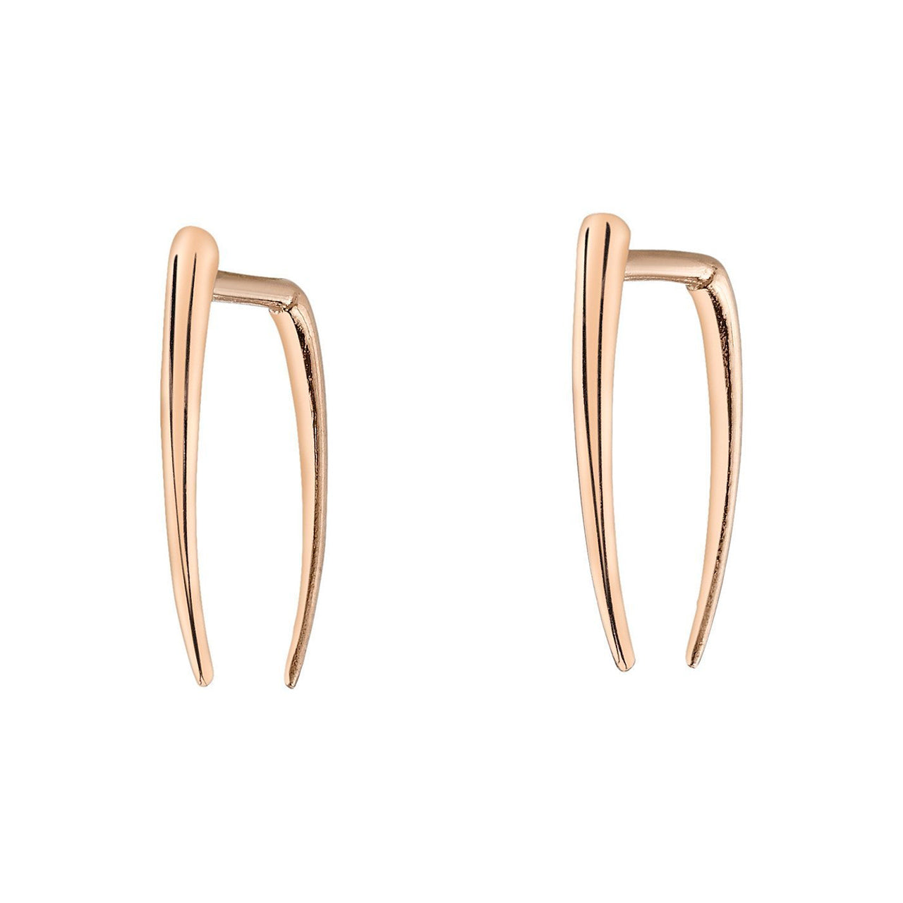 Classic Infinite Tusk Earrings