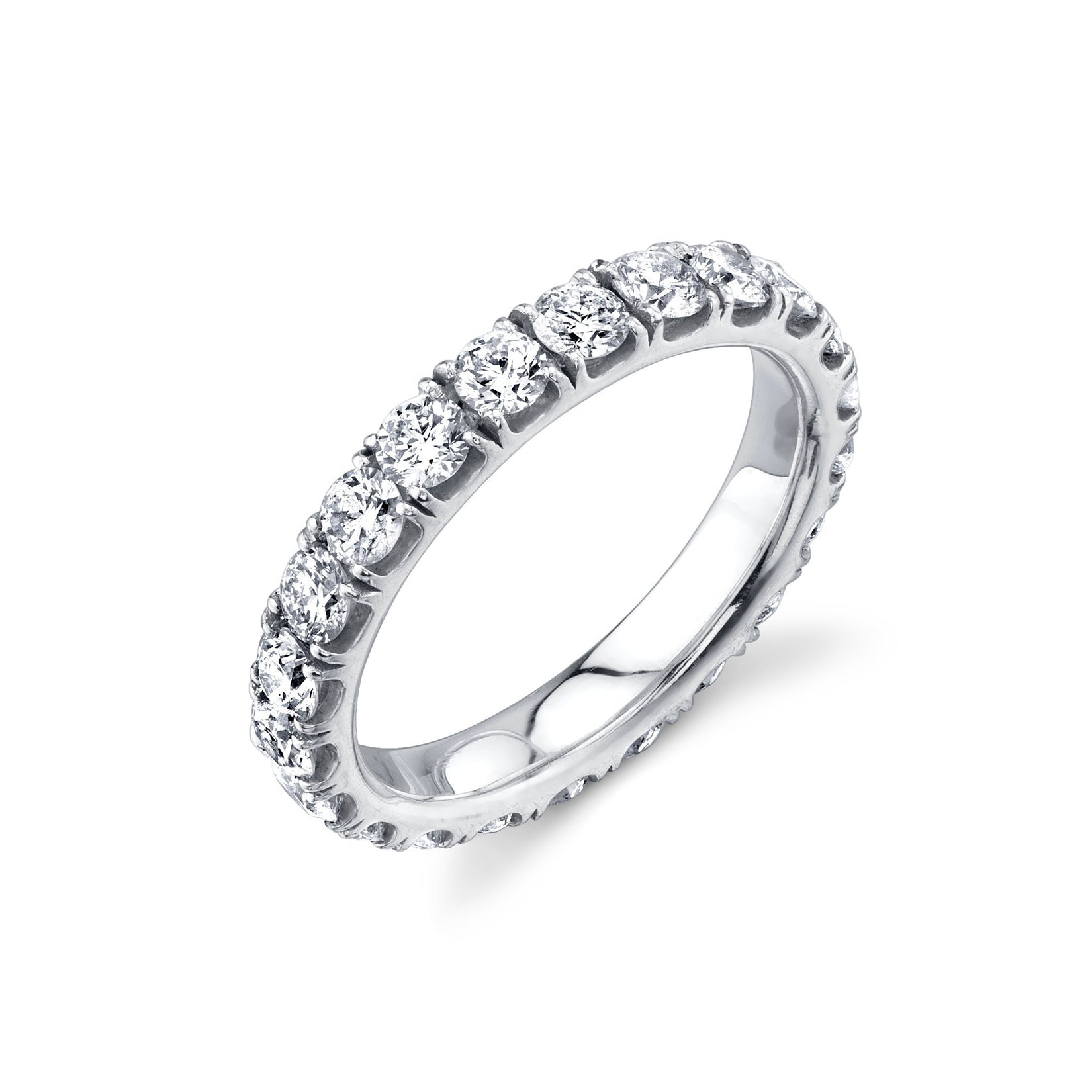 Master Axis Ring With White Diamonds