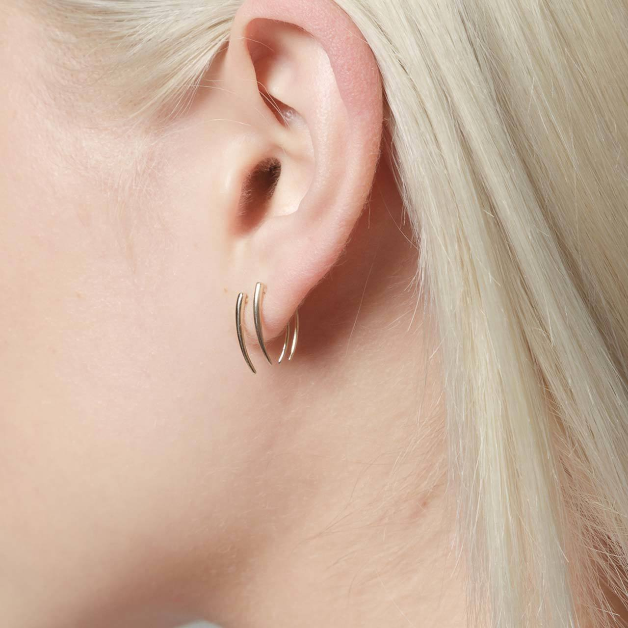Single Classic Infinite Tusk Earring - Gabriela Artigas
