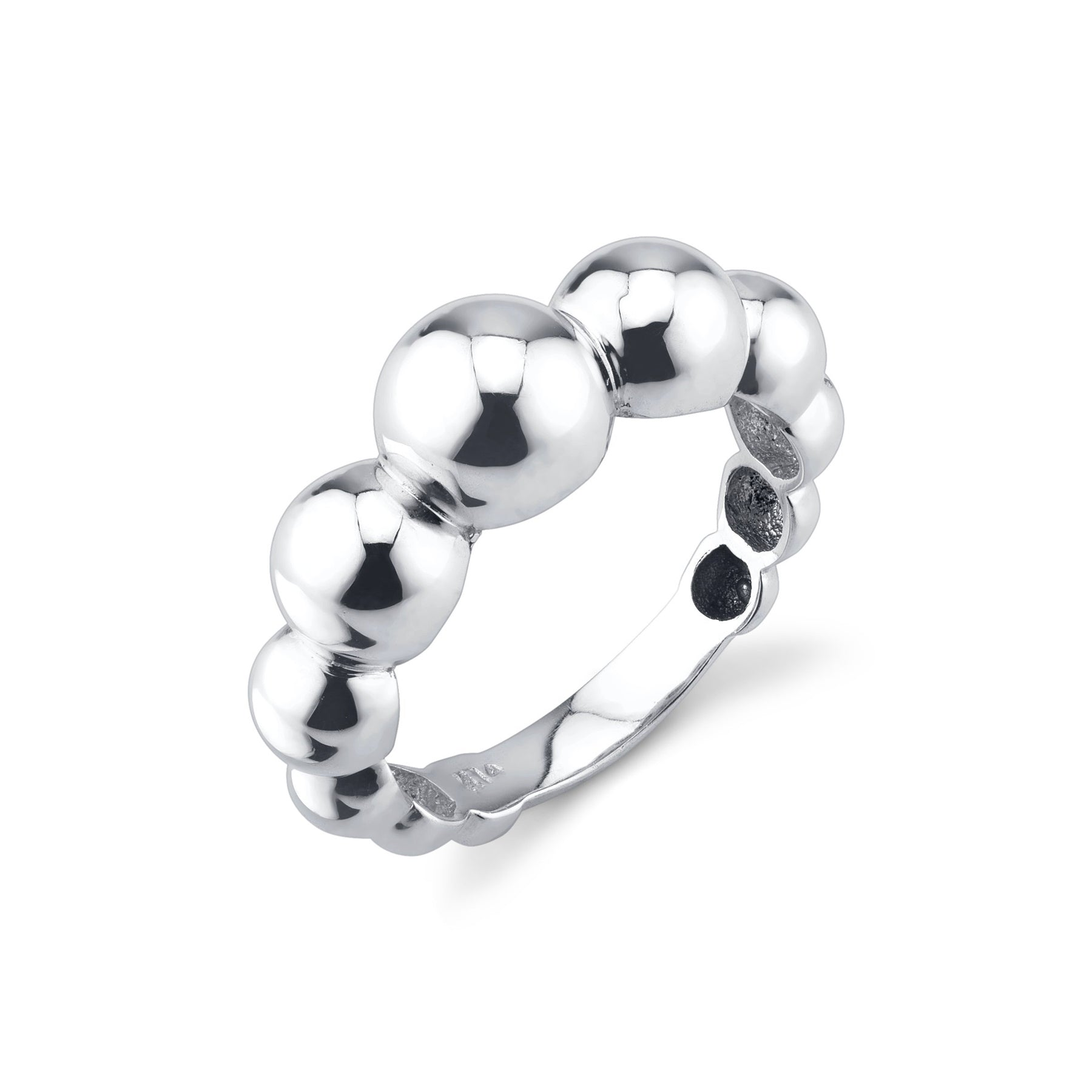 Large Sphere Ring