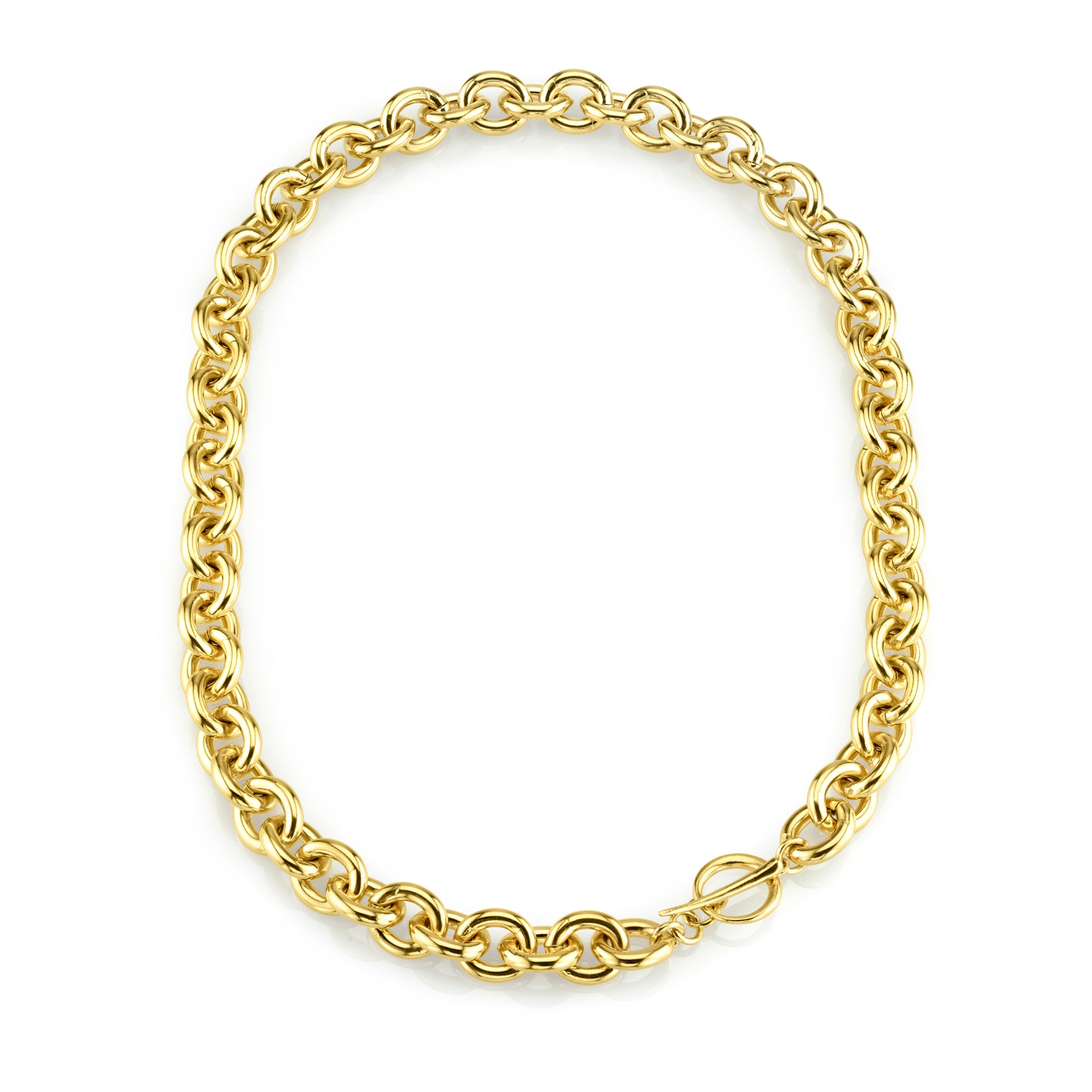 Chain Choker With Tusk Clasp - Gabriela Artigas