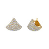 Small Apse Earrings With White Pavé Diamonds - Gabriela Artigas