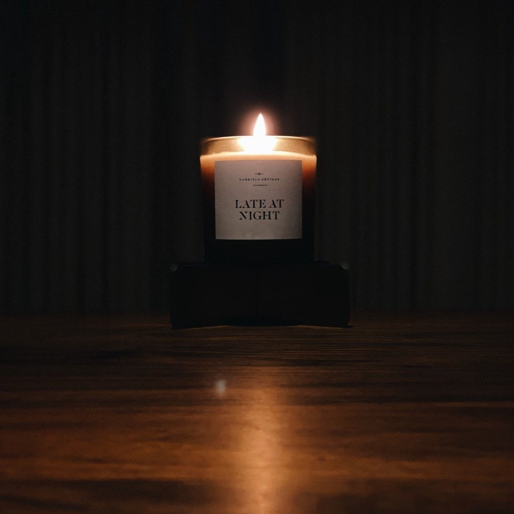 Late at Night Candle - Gabriela Artigas