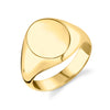 Large Disc Signet Ring - Gabriela Artigas