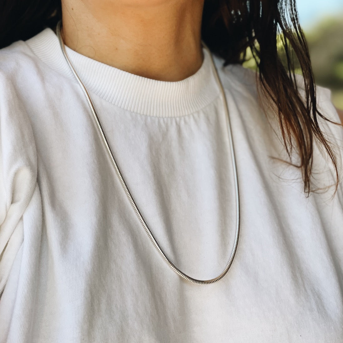Snake Chain Necklace - Gabriela Artigas