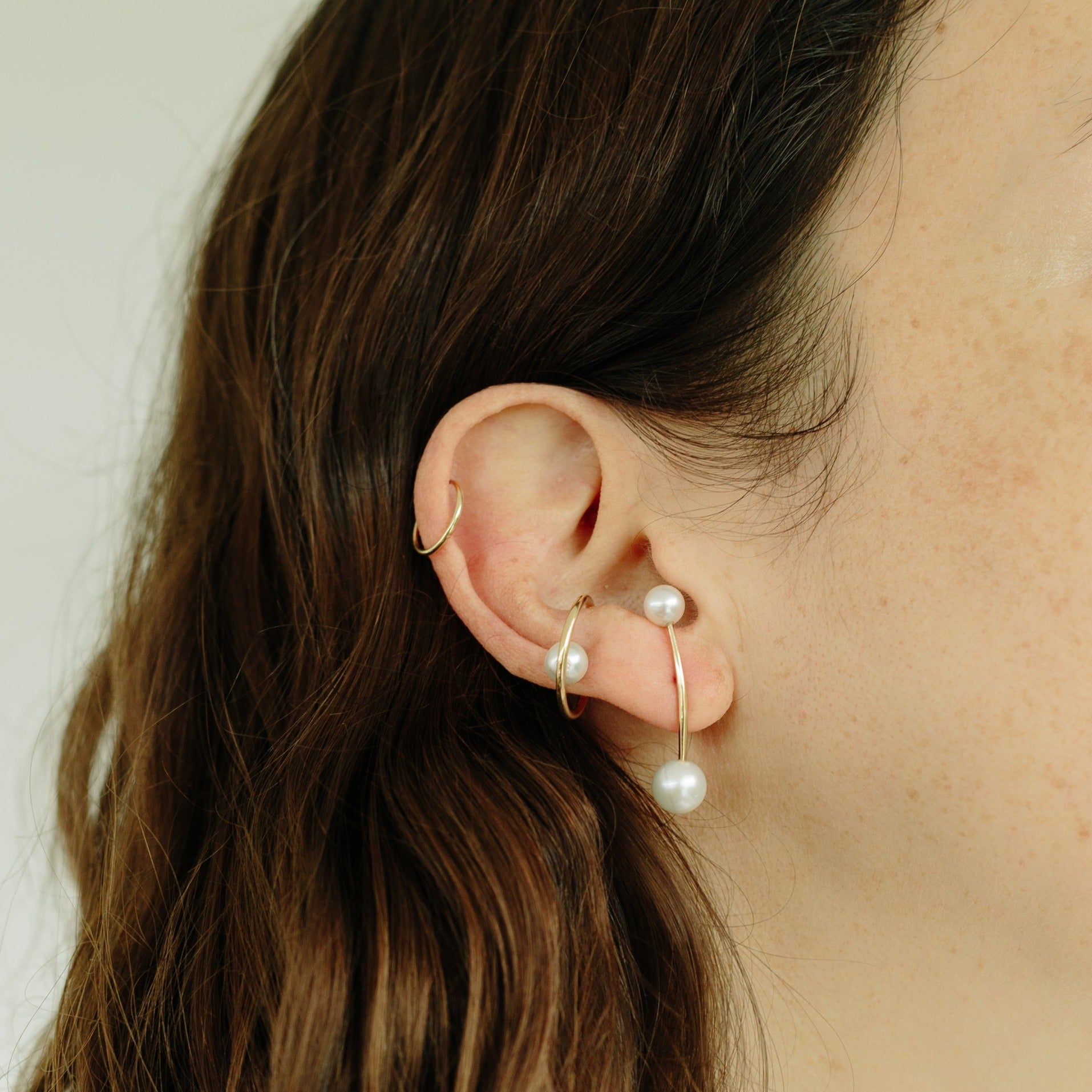 Double Suspended Earring - Gabriela Artigas