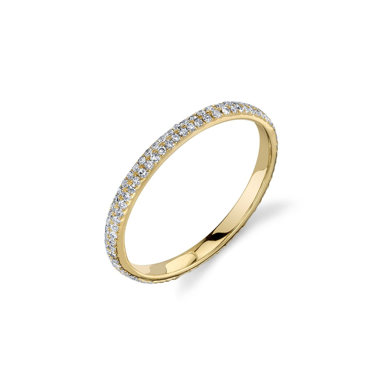 Gabriela Artigas Axel Ring with White Pave