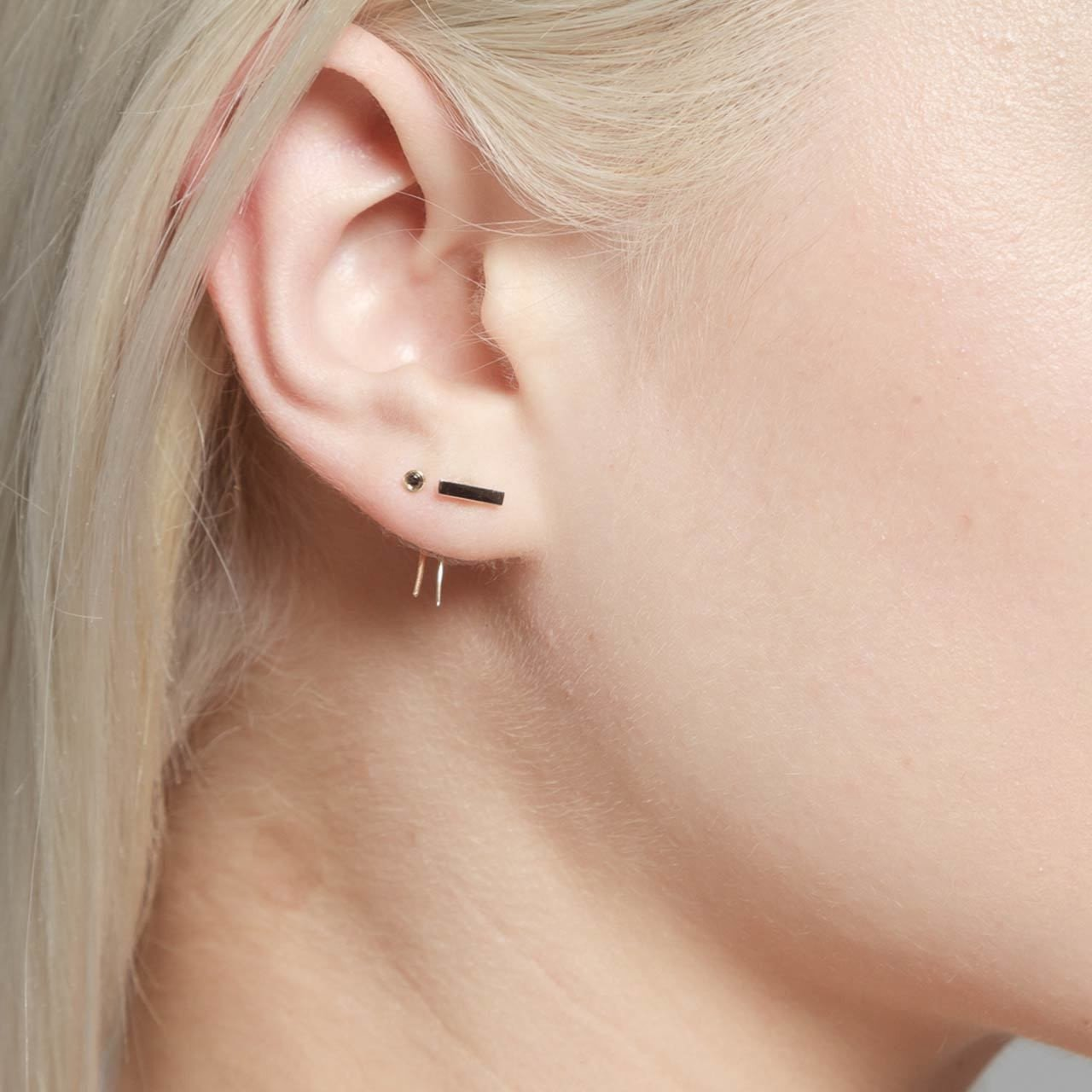 Bar on Infinite Tusk Earring - Gabriela Artigas