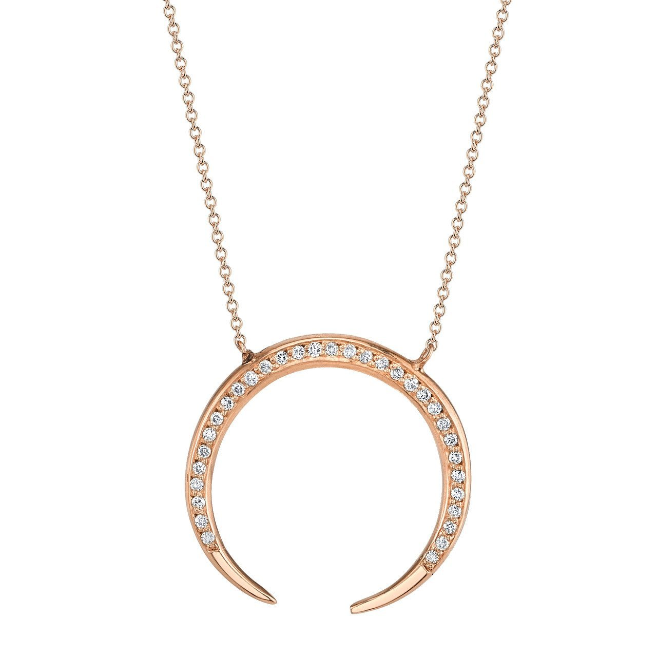 Gabriela Artigas Eternal Necklace with White Pavé