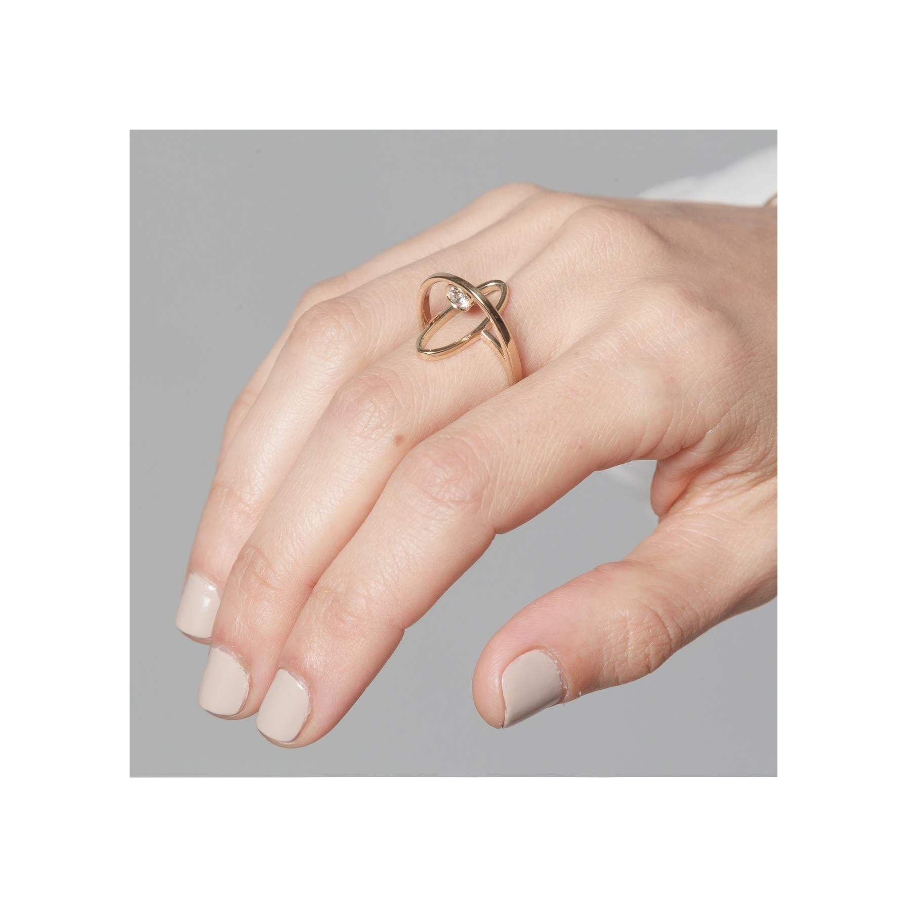 Gabriela Artigas Floating Diamond Boreal Ring