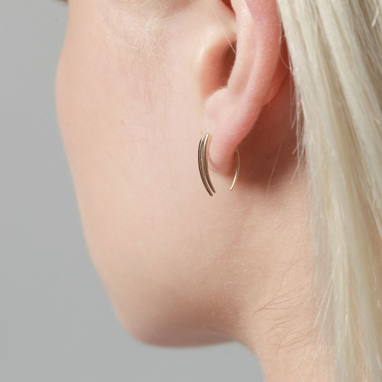 Gabriela Artigas Infinite Tusk Earrings (Pair)