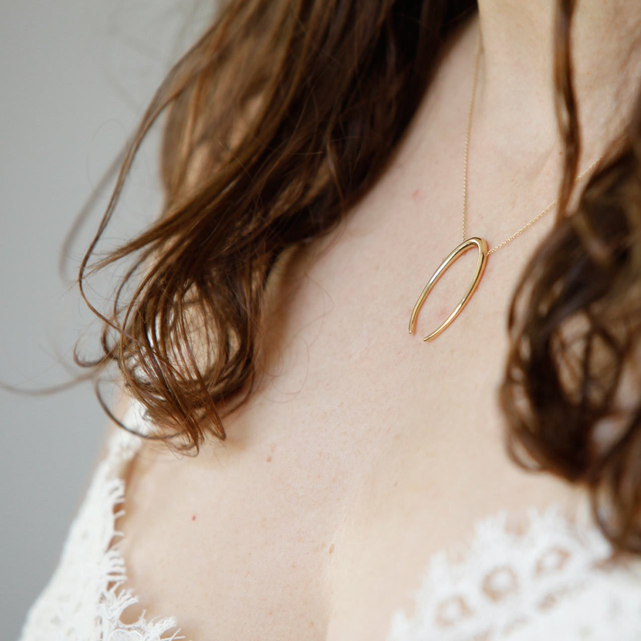 Lunula Necklace - Gabriela Artigas