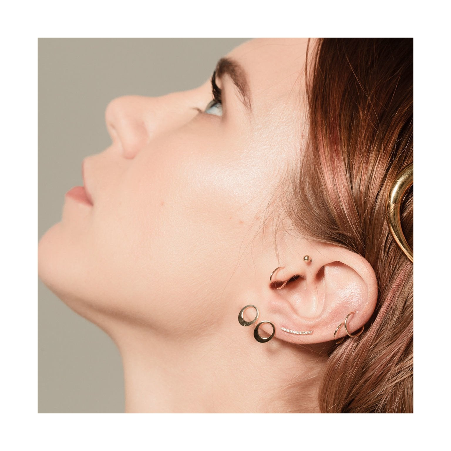 Mini Rising Tusk Earrings - Gabriela Artigas
