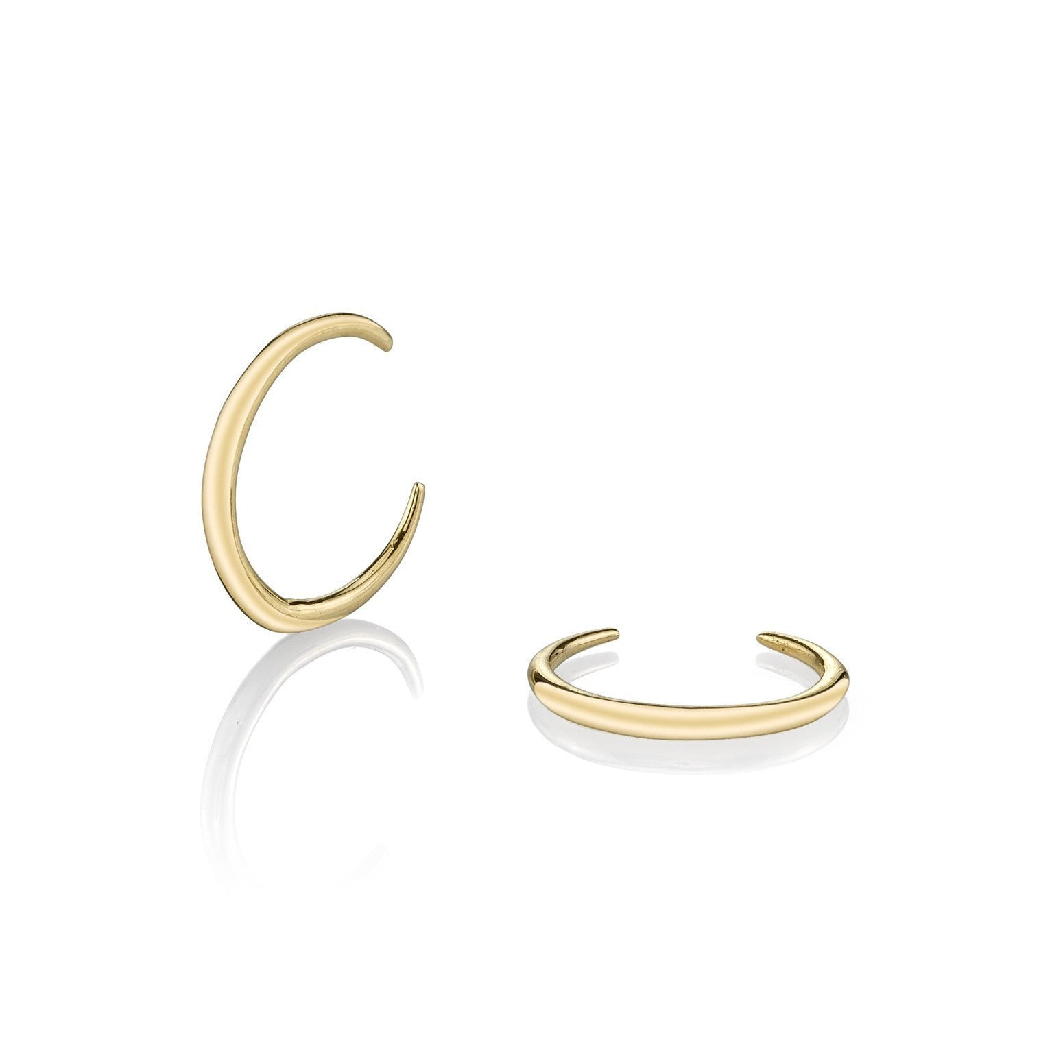 Gabriela Artigas Mini Rising Tusk Earrings (Pair)