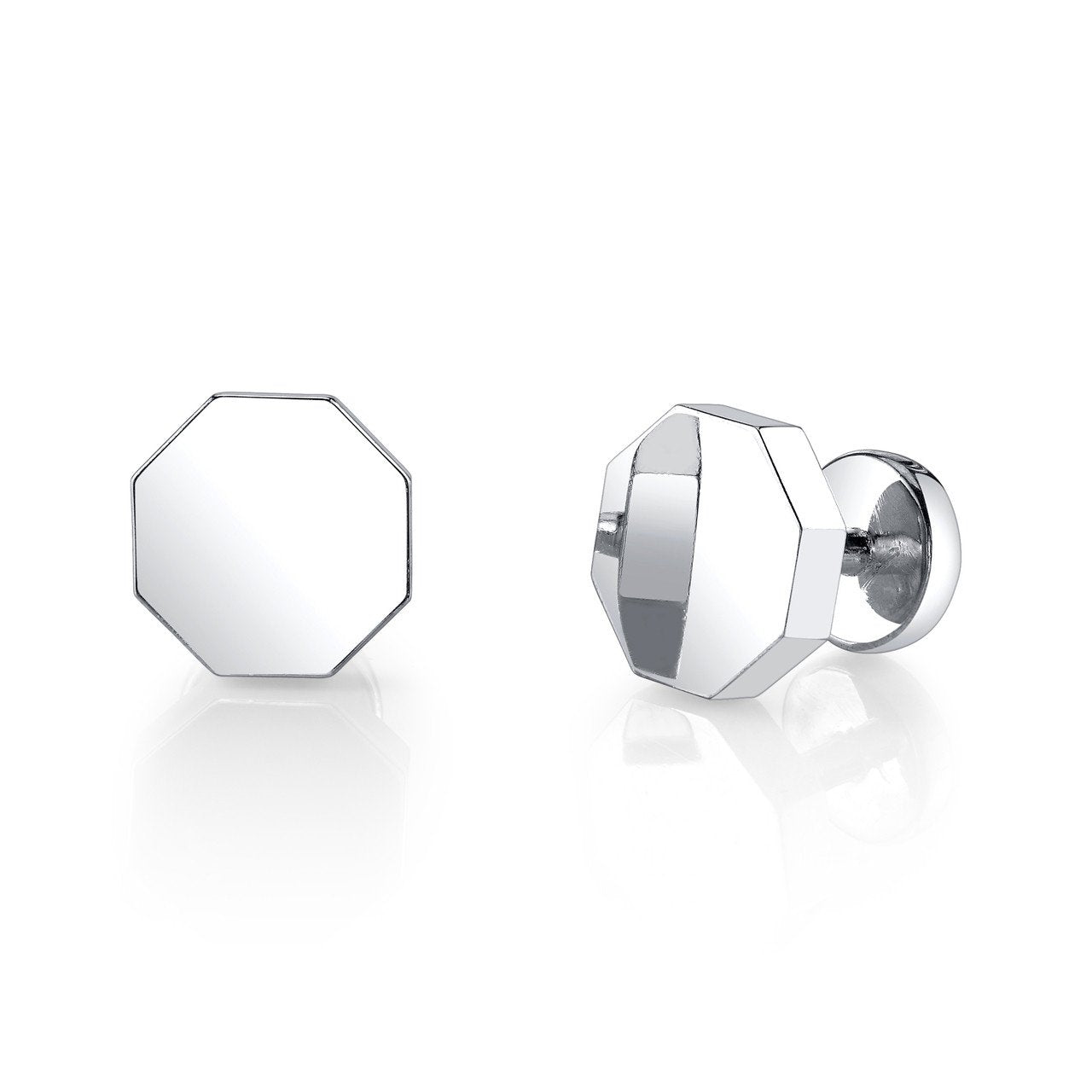 Octagon Cuff Links - Gabriela Artigas