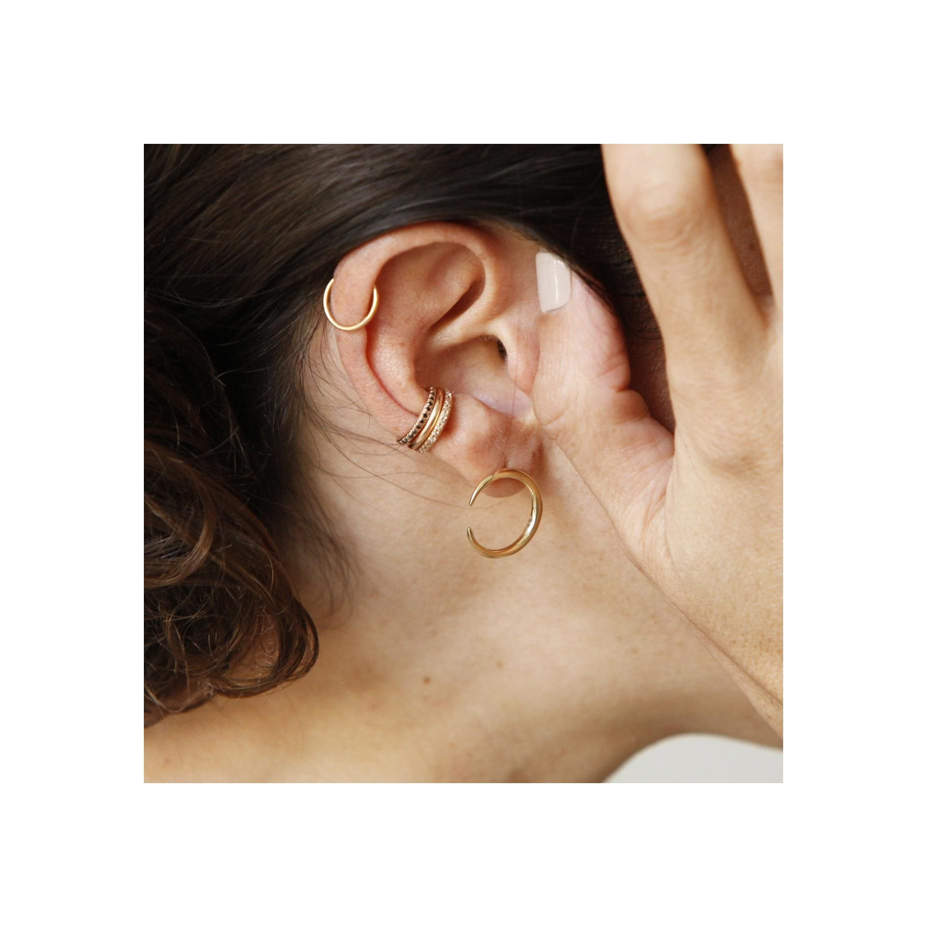Reloaded Ear Cuff - Gabriela Artigas