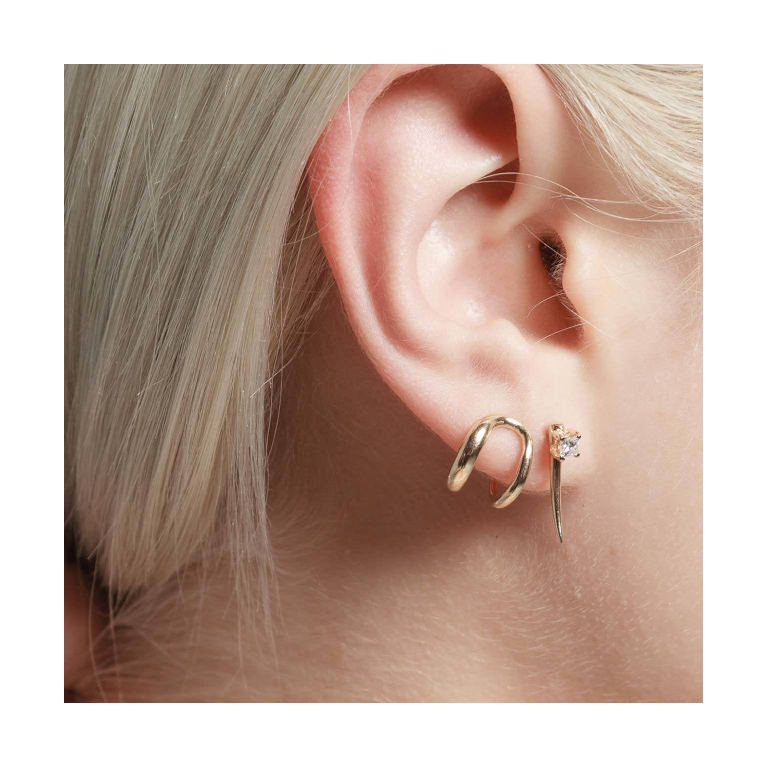 Twin Tusk Earrings - Gabriela Artigas