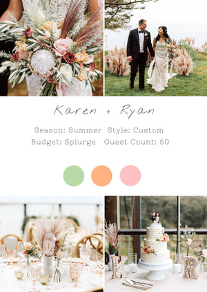 Karen + Ryan - Timber Cove