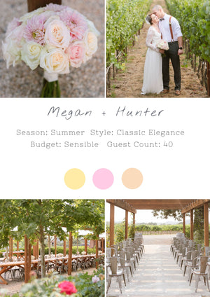 Megan + Hunter - Sonoma II Wedding
