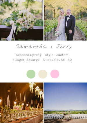 Samantha + Jerry - Healdsburg I Wedding