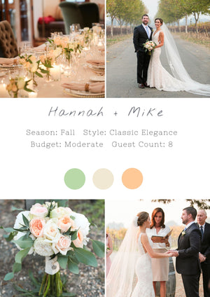 Hannah + Mike - Sonoma II Wedding