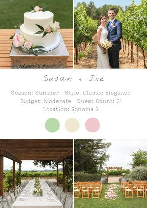 Susan + Joe - Sonoma II Wedding