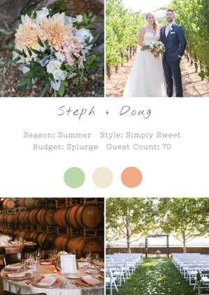 Steph + Doug - Healdsburg II Wedding