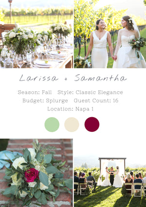 Larissa + Samantha - Napa 1 Wedding