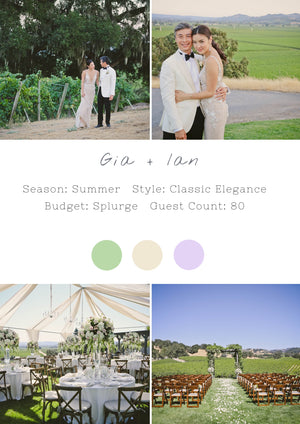 Gia + Ian - Healdsburg III Wedding