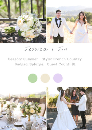 Jessica + Jin - Healdsburg Wedding