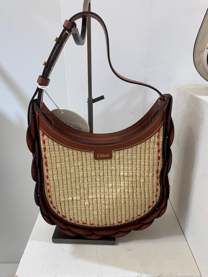 Chloé Daryl Shoulder Bag Sepia Brown